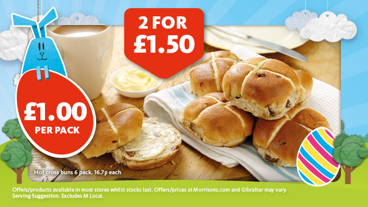 Offers from Morrisons in the Nottingham leaflet
