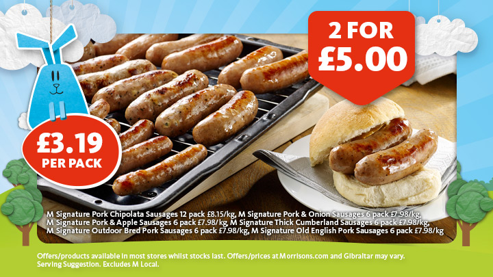 Offers from Morrisons in the Skipton leaflet