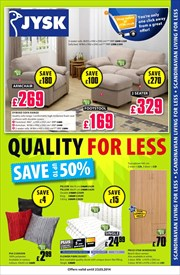 Catalogues with JYSK offers in Chadderton