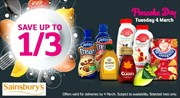 Offers from Sainsbury's in the Sale leaflet