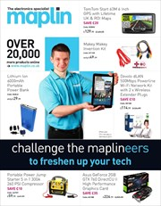 Offers from Maplin in the Derry leaflet