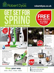 Catalogue of offers Robert Dyas