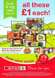Catalogues with Spar offers in Bridgend