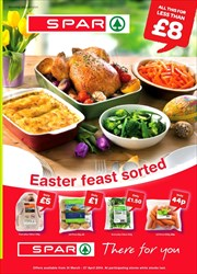 Offers from Spar in the Grimsby leaflet