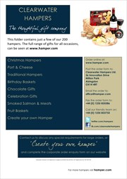 Catalogues with Clearwater Hampers offers in Penrith