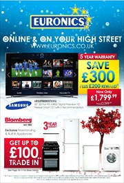 Offers from Euronics in the Ipswich leaflet