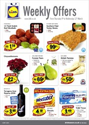 Catalogues with Lidl offers in Blackburn