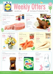 Catalogue of offers Lidl