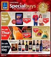 Catalogue of offers Aldi