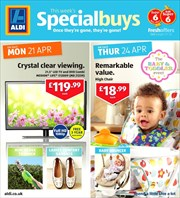 Offers from Aldi in the East Kilbride leaflet