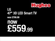 Catalogues with Hughes Electrical offers in Ipswich