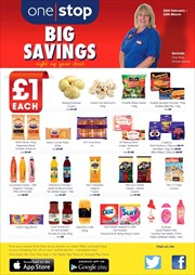 Catalogues with One Stop offers in Grantham
