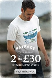 Catalogues with Fat Face offers in Londonderry