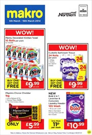 Catalogues with Makro offers in Blackburn