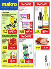 Catalogues with Makro offers in Aberdeen