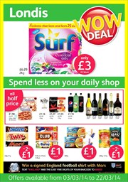 Catalogues with Londis offers in Bolton