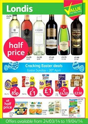 Catalogues with Londis offers in London