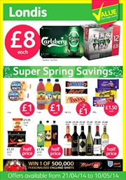 Catalogues with Londis offers in Sale