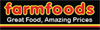 Info and opening hours of Farmfoods store on 50 Valley Road