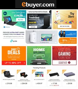 Ebuyer offers in the London catalogue