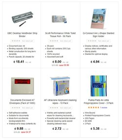 Scott offers in the Ebuyer catalogue in London