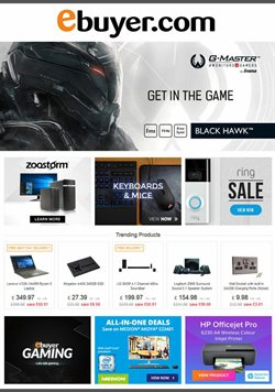 Electronics offers in the Ebuyer catalogue in Lewisham