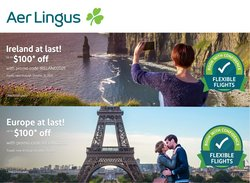 Travel offers in the Aer Lingus catalogue ( 4 days left)