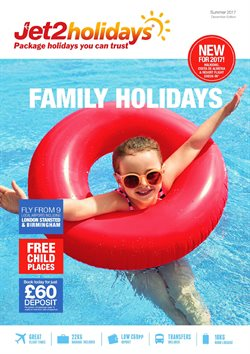 Jet2 offers in the London catalogue