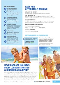 LG offers in the Jet2 catalogue in London