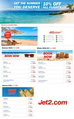 Jet2 catalogue ( Expires today )