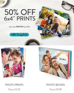 Books & Stationery offers in the Snapfish catalogue ( 4 days left)