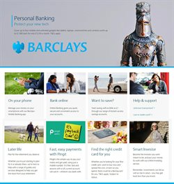 Barclays offers in the London catalogue