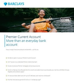 Barclays offers in the Barclays catalogue ( More than a month)