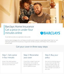 Banks offers in the Barclays catalogue ( 8 days left)