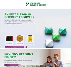 Banks offers in the Yorkshire Building Society catalogue ( 14 days left)