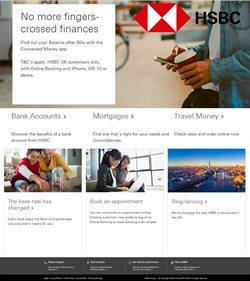 Banks offers in the HSBC catalogue in Bristol