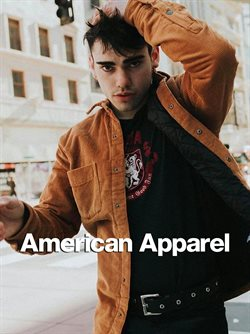 American Apparel offers in the London catalogue