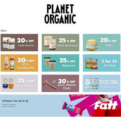Planet Organic catalogue ( 9 days left )