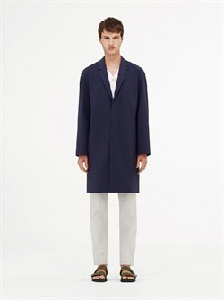 Men's coat offers in the COS catalogue in London