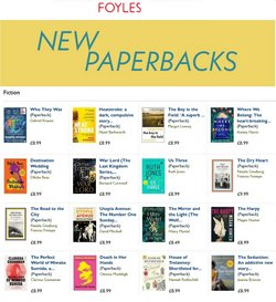 Books & Stationery offers in the Foyles catalogue ( 8 days left)