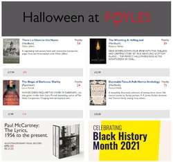 Books & Stationery offers in the Foyles catalogue ( 4 days left)