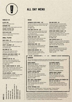 Restaurants offers in the Giraffe catalogue ( More than a month)