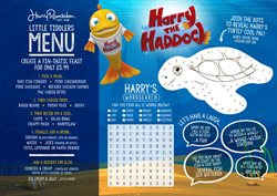 Harry Ramsden's offers in the Manchester catalogue