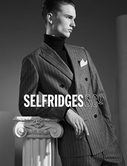 Selfridges catalogue in London ( 10 days left )