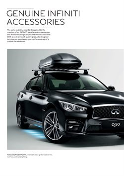 Roof box offers in the Infiniti catalogue in London