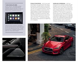 Bose offers in the Infiniti catalogue ( More than a month)