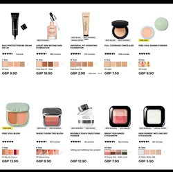 Makeup offers in the Kiko catalogue in London