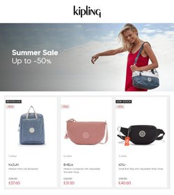 Clothes, Shoes & Accessories offers in the Kipling catalogue ( 12 days left)
