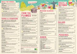 Las Iguanas offers in the London catalogue