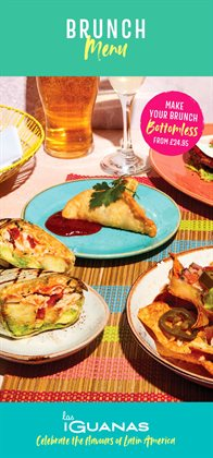 Restaurants offers in the Las Iguanas catalogue in Southport ( 17 days left )